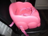 Babys pink chair