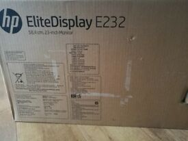 "HP EliteDisplay E232 IPS 23"" Black Full HD Matt"