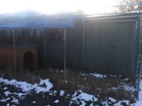 Dog kennel for sale 1.5 metre by 4metres roughly