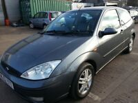 FORD FOCUS 1.8 TDI DIESEL 3DR 6 MONTHS MOT LEATHER HEATED SEATS