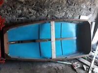 Mirror style sailing dingy in ply