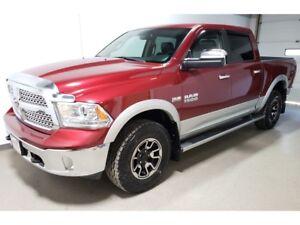 2013 Ram 1500 Laramie|Htd Leather/Wheel|Navi|Cooled Seats|Loaded