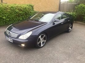 2006 MERCEDES CLS 320 CDI 4rd COUPE AUTO 7G-TRONIC
