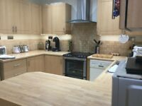 Beech kitchen units for sale