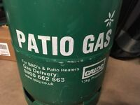Patio Gas cylinder almost full