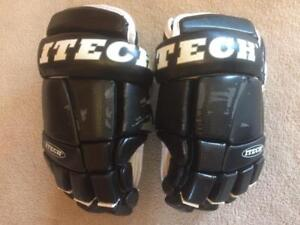 Like NEW ITECH HG4700 Hockey Gloves Size 14""