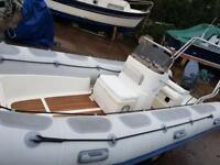 Valiant 520 Rib Great Condition