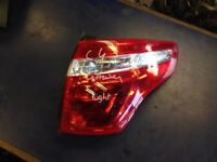 2008 CITROEN C4 GRAND PICASSO REAR DRIVER RIGHT OFF SIDE OUTER LIGHT LAMP