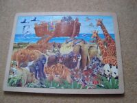 x3 Wooden jigsaw puzzles £10