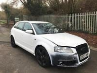 AUDI A3 SLINE BLACK EDITION SPARES OR REPAIRS ONLY