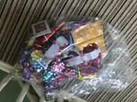 Selection of New Gift Bows and Ribbons and a few Gift Bags Excellent condition R505