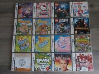 Selection of Nintendo Ds games
