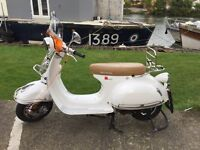 Milano 125 same as AJS Modena 125 Reg July 2016 new sticky tyres & fly screen.