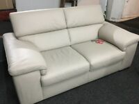 New/Ex Display Reid Liberata 2 Seater Leather Sofa