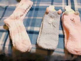 Socks in winter