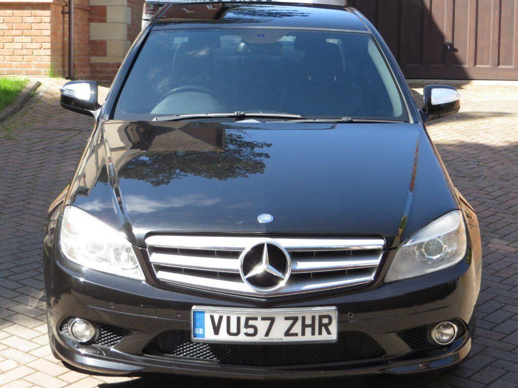 mercedes benz amg c220 sportback cdi diesel 57 2008 with full service history for sale in. Black Bedroom Furniture Sets. Home Design Ideas