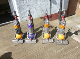 job lot 4 dysons x dc24 for spares or repair