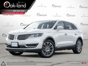 2016 Lincoln MKX Reserve|Fin From 2.9%|Huge Ext Warranty Inc!!
