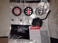 Burton Quick discs set new complete with stomp pad