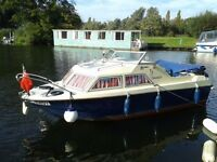 Mayland Microplus 503 motor boat, day boat, river cruiser in BECCLES