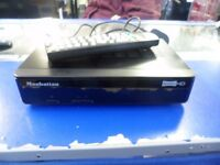 Manhattan Plaza HD-T2 HDMI Freeview HD Receiver