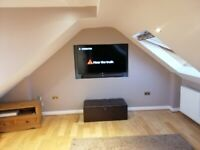 Luxury Modern Studio Flat to Rent - Clean, Furnished, Quiet Location, New Kitchenette