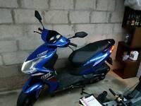 Junak 611 scooter