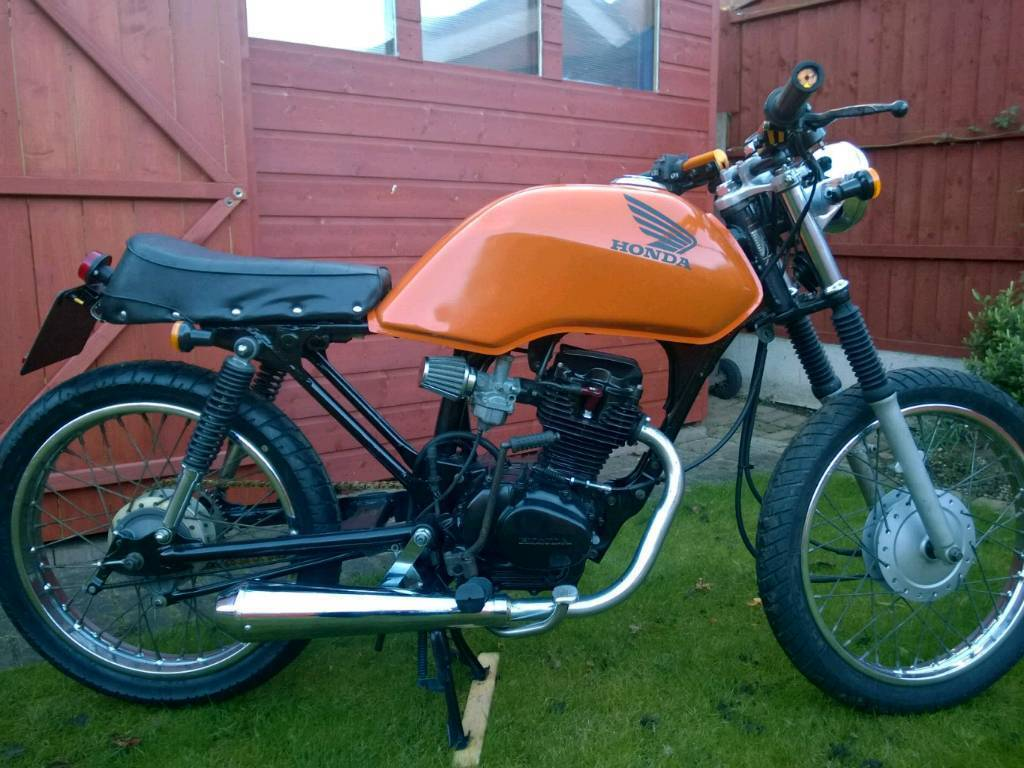 honda cg 125 cafe racer in swindon wiltshire gumtree. Black Bedroom Furniture Sets. Home Design Ideas
