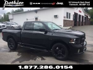 2017 Ram 1500 Black Appearance | CLOTH | KEYLESS | BLUETOOTH |