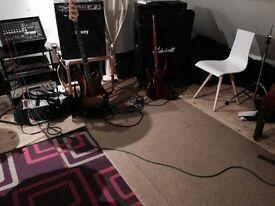 Practice rooms and rehearsal studio