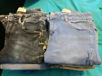 17 pairs of jeans