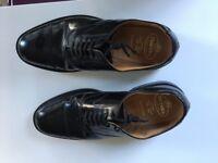 Men's Church Lancaster black leather shoes, UK size 10 - EXCELLENT CONDITION