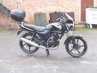 2007 YAMAHA YBR 125 FUEL INJECTION MODEL LEARNER COMMUTER LONG MOT DELIVERY AVAILABLE