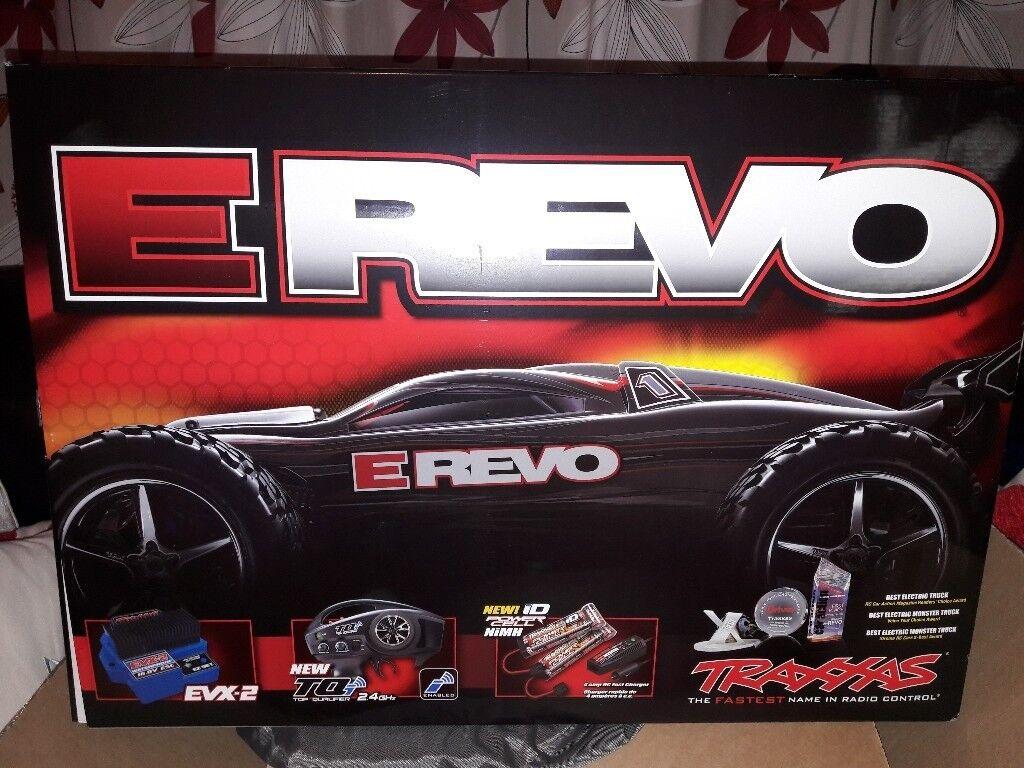 E Revo TRAXXAS electric car