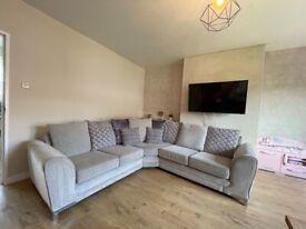 Stunning SCS double corner sofa