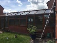 Pre Owned Large UPVC Conservatory ( to be professionally dismantled, can be rebuilt too if required)