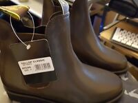 Gallop Classic Leather Jodhpur Short boots Brown size 4