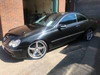 2005 mercedes CLK 2.7 CDI coupe