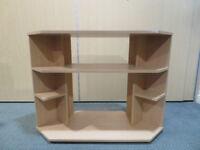 TV shelf/ corner unit