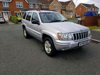 2004 53 jeep cherokee 2.7 crdi auto only 89k miles 4x4 great condiiton