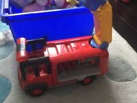 Fire engine from early learning centre, lights and sounds
