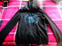 Ladies Navy blue hoodie from Hollister size XS