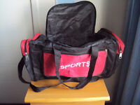 Brand New Red & Black Sports/Gym Bag