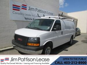 2018 GMC Savana 2500 6.0L RWD LOW KM Fully Upfitted Cargo Van