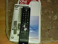 ONE FOR ALL 4. Universal remote control