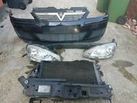 Vauxhall Corsa C front end parts black face lift