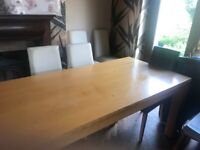 NEXT Dining Room Table Chairs