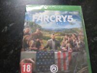 Xbox one far cry 5 still sealed Brand New