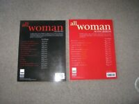 All Woman Song Books x 2