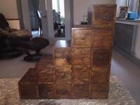 Decorative drawer set